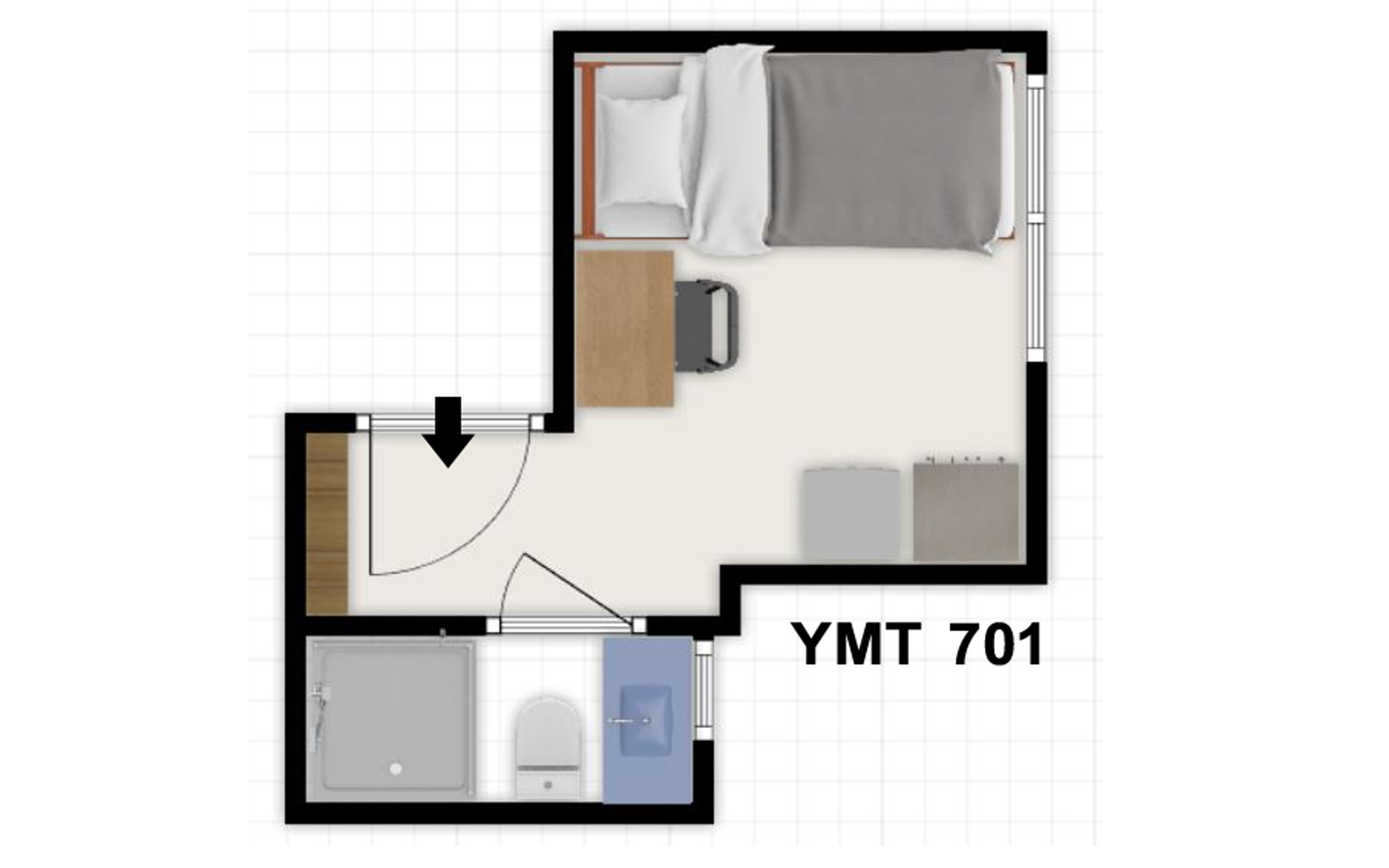 YMT Co-Living 701 Gallery