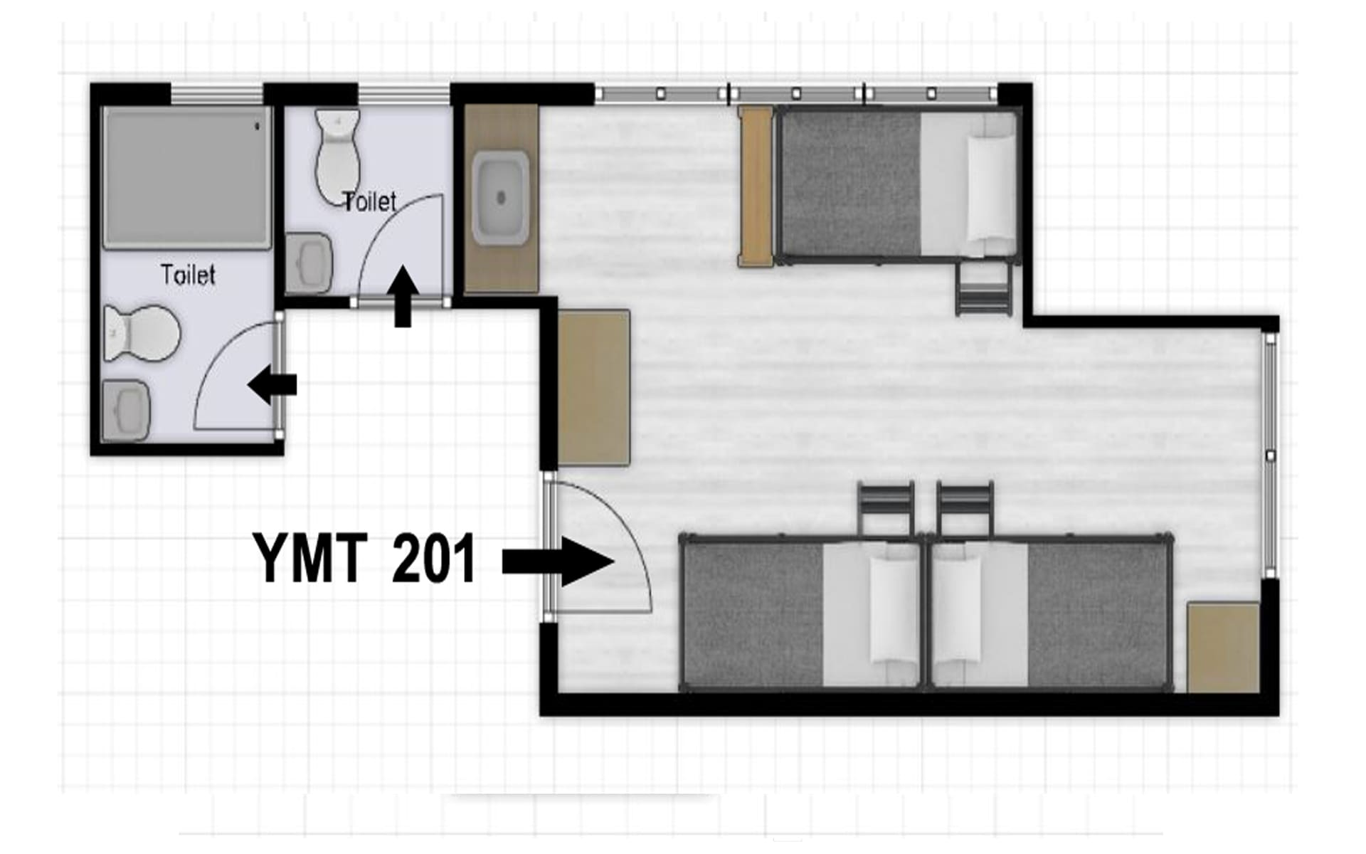 YMT Co-Living 201 Gallery