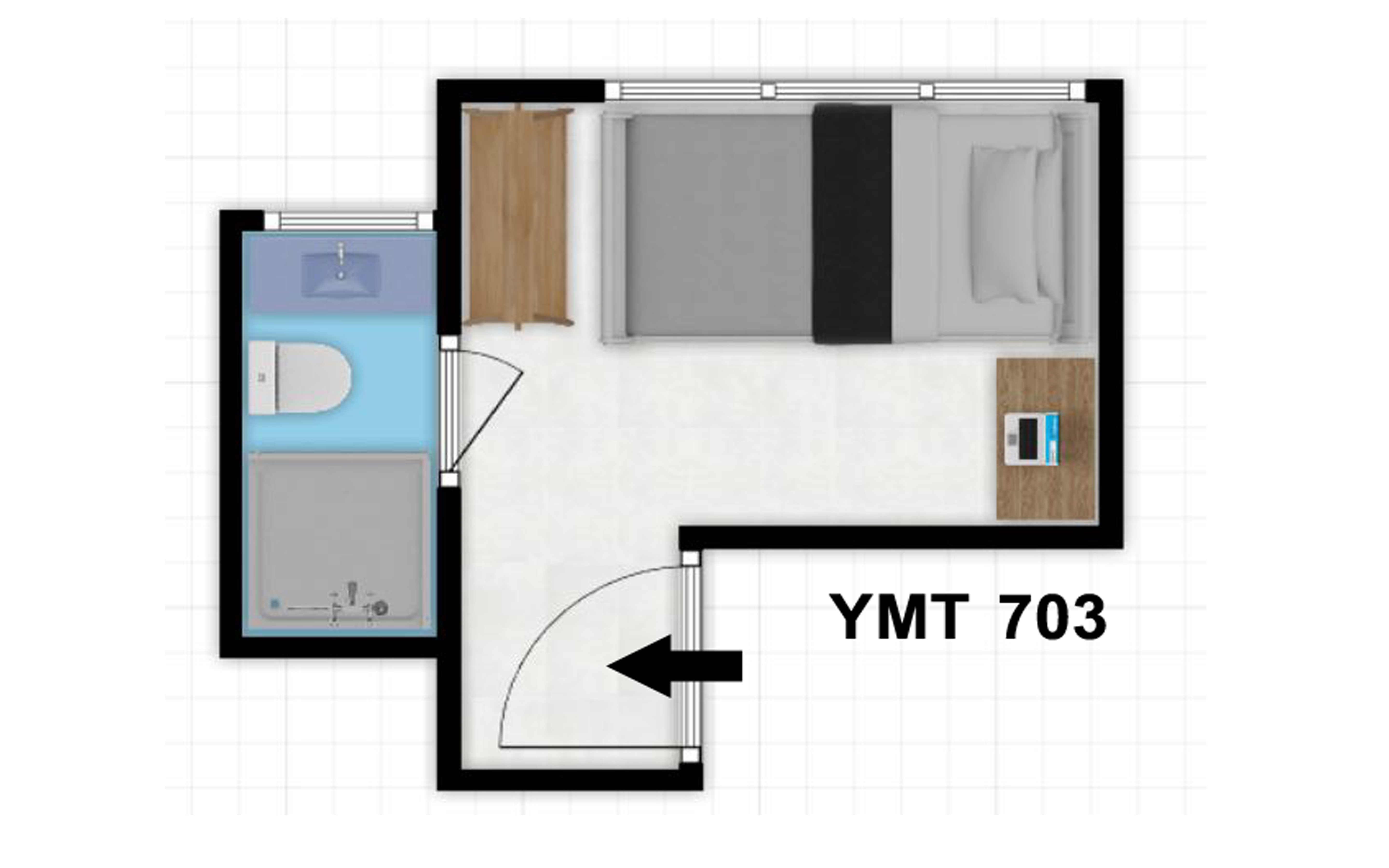 YMT Co-Living 703 Gallery